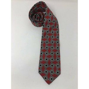 Jos A Bank Executive Collection Tie Red White Blue